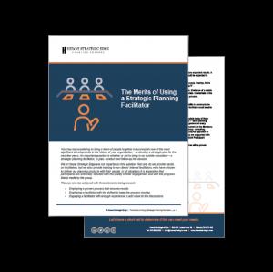 The Merits of Using a Strategic Planning Facilitator
